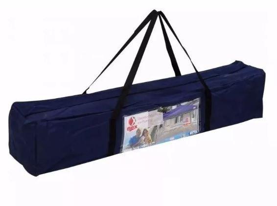 Tenda Gazebo X-Flex Dobravel Articulada 3x3 Mts - MOR