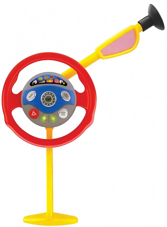 Volante Interativo Infantil Minha 1ª Direção Com Luz E Som - Belfix
