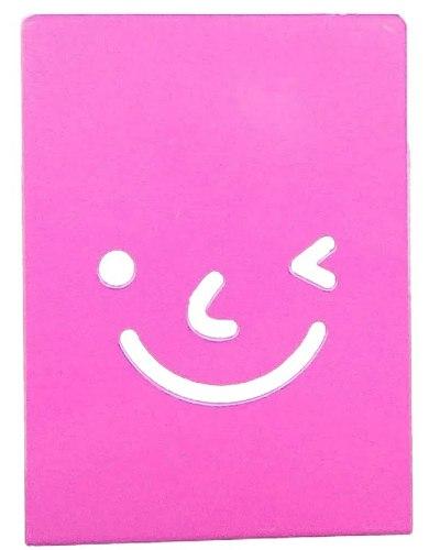 Suporte Aparador De Livros Dvd Cd Decorativo Smile 2 Peças cor Laranja