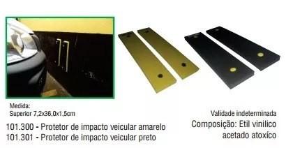 Protetor Para-choque Parede Garagem Anti Impacto Autoadesivo