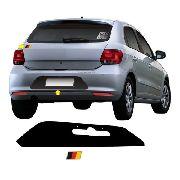 Adesivo Automotivo Tuning Gol G6 Fundo De Placa + Adesivo Alemanha