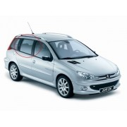 Adesivo Tuning Coluna Texturizado Peugeot 206 Sw 4p