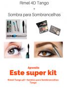 Kit Rímel 4d + Sombra De Sobrancelha Tango