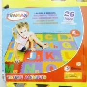 Tapete Eva Educativo Infantil Alfabeto 26 Peças