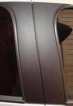 Adesivo Tuning Coluna Texturizado Honda Civic 4p