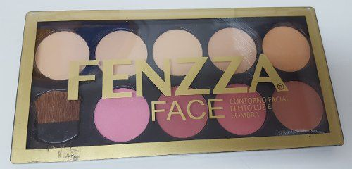 Kit Face Contorno Facial Efeito Luz E Sombra Fenzza Make Up