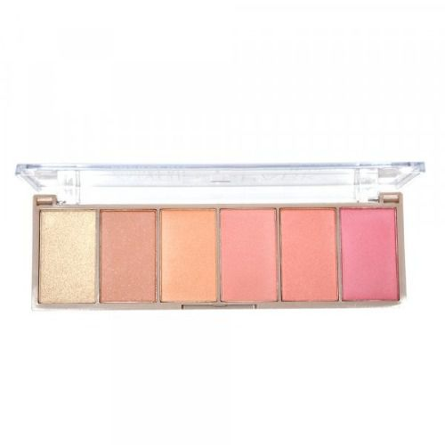 Paleta De Blush 6 Cores Pocket Angel Spark Ruby Rose Hb6108