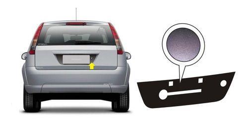 Adesivo Automotivo Tuning Fiesta Hatch Rocam Fundo De Placa
