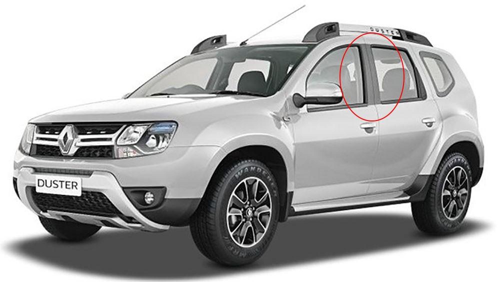 Adesivo Automotivo Tuning Coluna Texturizado Duster 4p