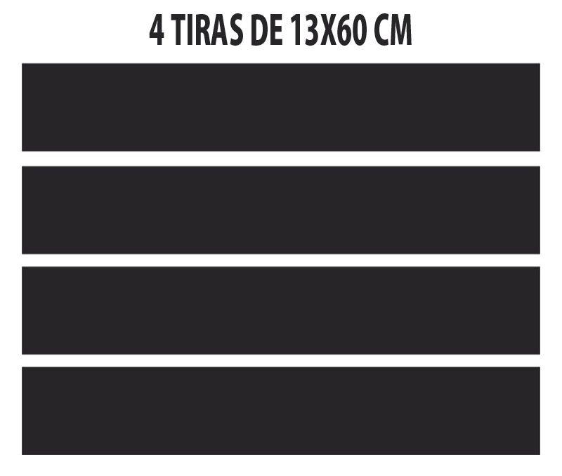 Adesivo Coluna Texturizado Duster 4p