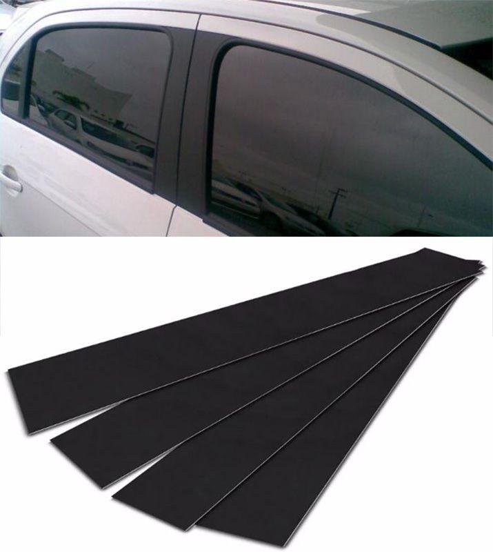 Adesivo Coluna Texturizado Renault Clio 4p