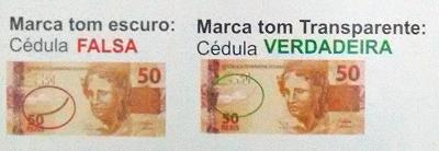 Caneta Testa Dinheiro