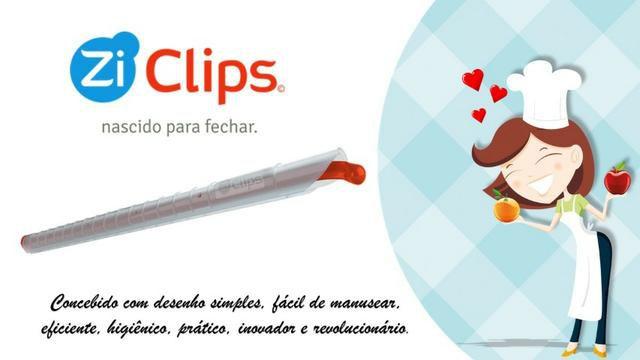 Clip Prendedor Para Fechar Sacos E Embalagens Ziclips
