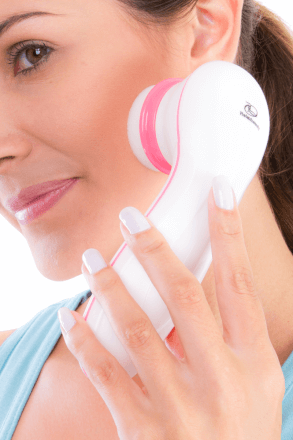 Escova de Limpeza Facial Clean A Prova D'água