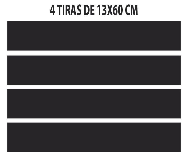 kit Adesivo Coluna Peugeot 206 207 4 Portas + Porta Óculos