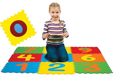 Tapete Eva Educativo Infantil Numérico 10 Peças