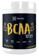 BCAA 12:1:1 Bionetic 250g Sabor Natural