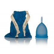 Coletor Menstrual Korui - azul (oceano)