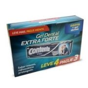 Kit Leve 4 pague 3 - Gel Dental Contente Extra Forte 90g
