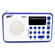 Radio Midi Japan Md-6015 Utf Azul Entrada Usb Sdcard