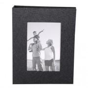 Álbum 100 Fotos 15x21cm Preto Square C/ Janela Wb-560