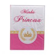 Álbum 240 Fotos 10x15 Bebe Bordado Minha Princesa Rec 501/03
