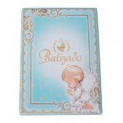 Álbum Batizado Azul Claro 60 Fotos 15x21 Design 145/773