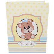 Álbum Do Bebê - 80 Fotos 15x21- Urso Principe Ical 78