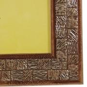 Porta Retrato 20x25 Madeira Ouro 45mm Rec 113/02