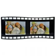 Porta Retrato duplo 10x15 de Vidro Filme Square Ondulado Pf-1100
