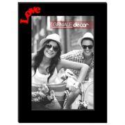 Porta Retrato Vertical Preto 20x25 Love Gen 06