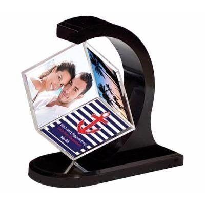 Cubo Fotografico Giratorio Magnetico Para 6 Fotos