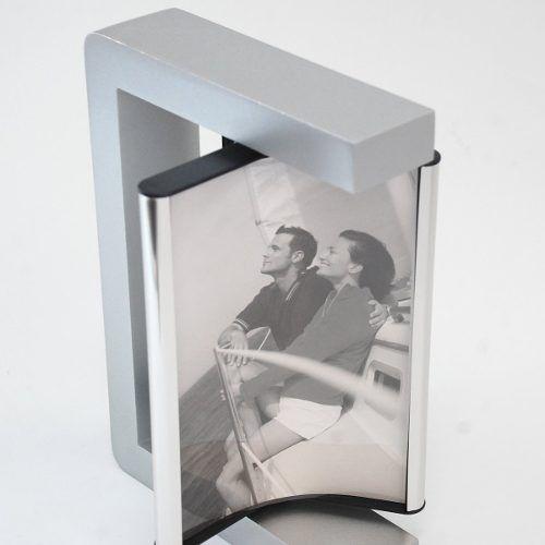 Porta Retrato Rotativo P/ 3 Fotos 10x15 Square Sci-1180