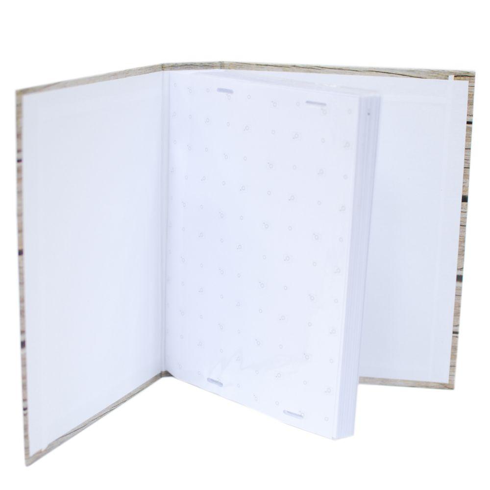 Álbum 100 fotos 13x18 Marfim c/miolo Rec 109/02