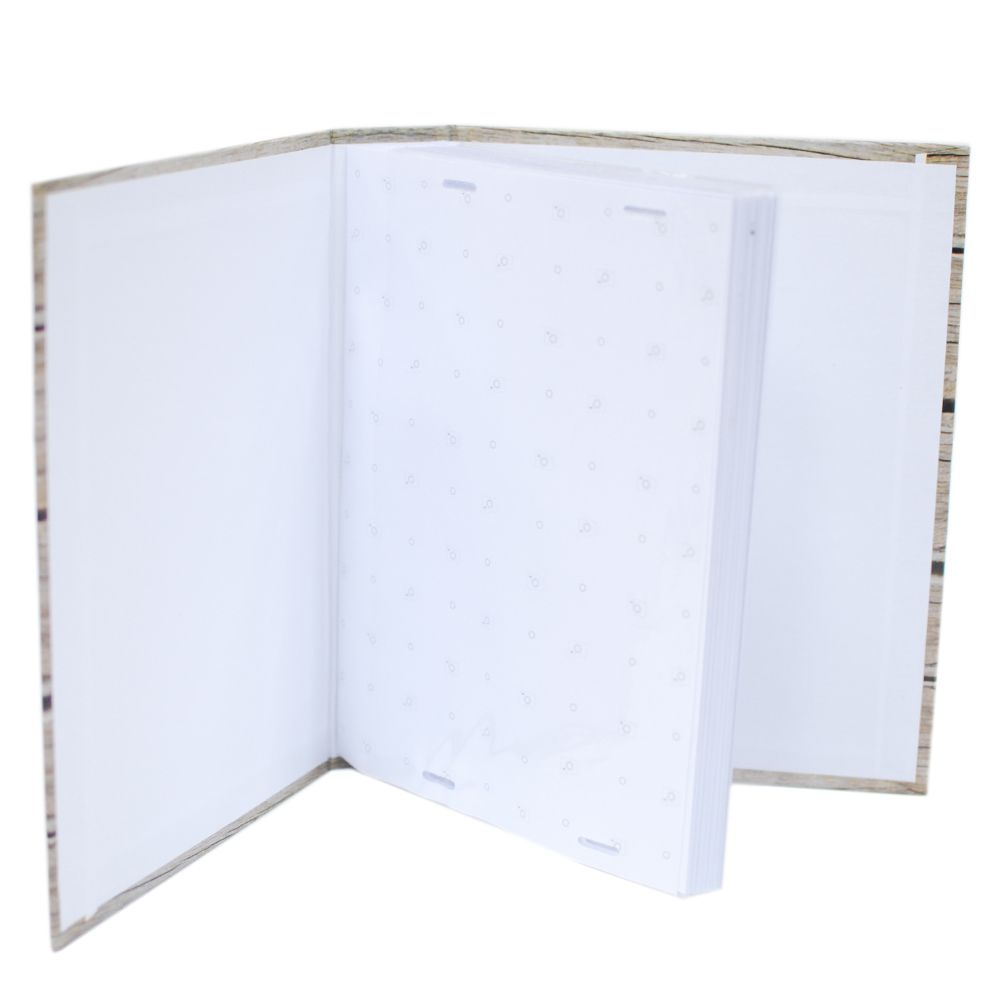 Álbum 100 fotos 13x18 Marfim c/ miolo Rec 109/12