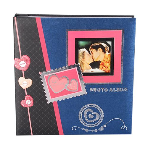 Álbum 100 fotos 15x21 Square c/ janela Pb-434