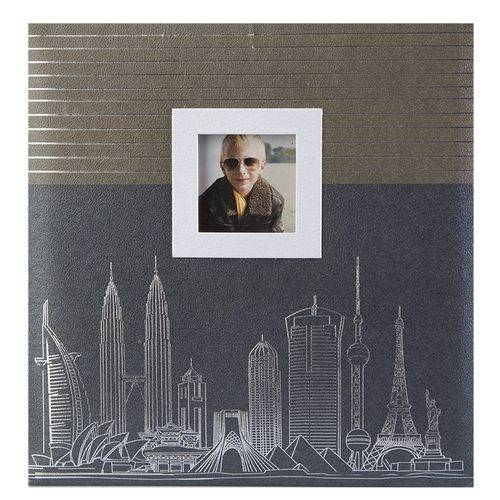 Álbum 100 fotos 15x21 Square c/ janela - Pb-441