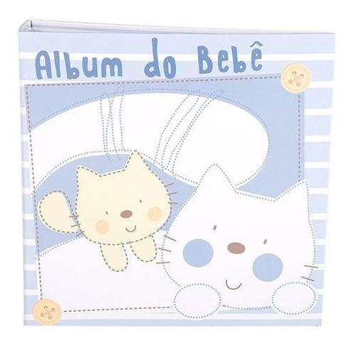 ALBUM 100F 15X21 BEBE MENINO MIMOS - REC 300/04