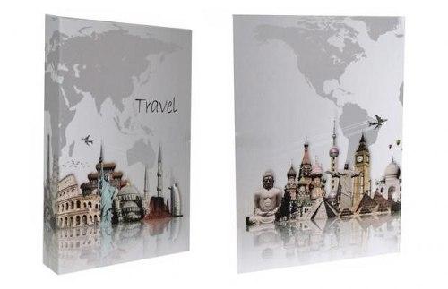 Álbum 200 Fotos 10x15 Travel Rec c/ miolo 108/05