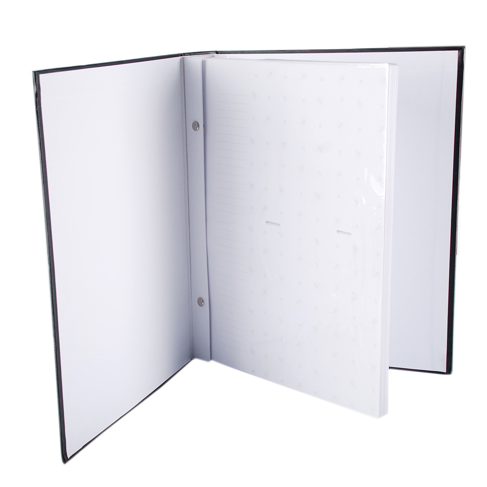 Álbum 200 Fotos 13x18 Marfim Folhas Brancas Rec 109/12