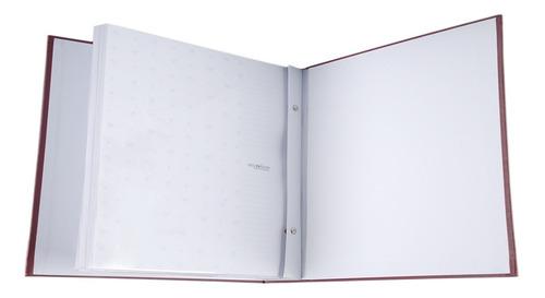 Álbum 200 Fotos 15x21 Com Miolo Marfim Rec 109/27