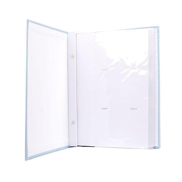 Álbum 300 fotos 10x15 Marfim - folhas brancas Rec 109/03