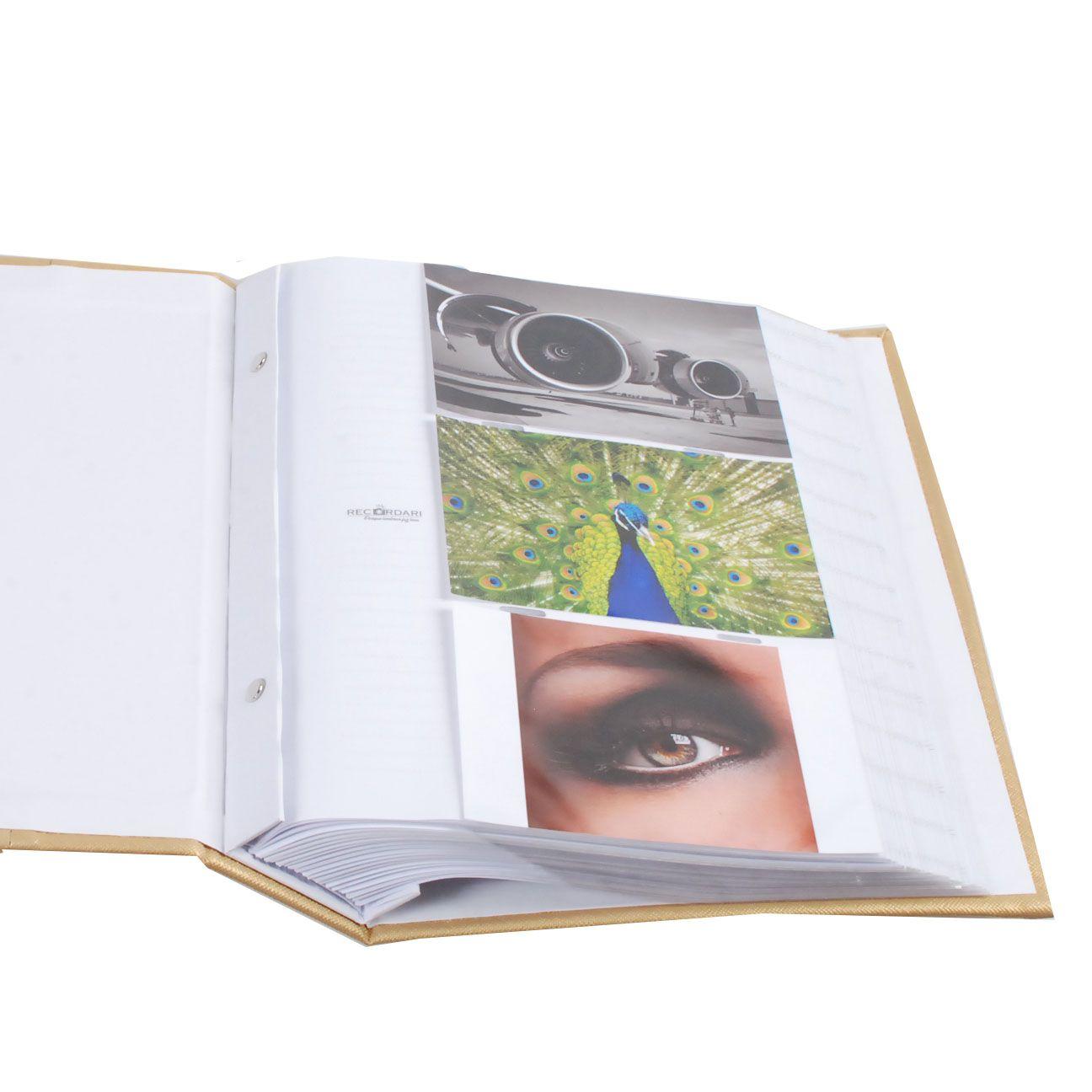 Álbum 300 Fotos 10x15 Marfim Rec 109/06