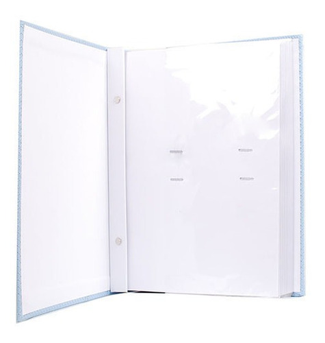 Álbum 300 Fotos 13x18 Marfim Folhas Brancas Rec 109/02