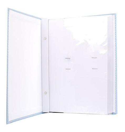 Álbum 300 Fotos 13x18 Marfim Folhas Brancas Rec 109/03