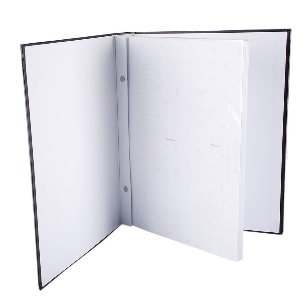 Álbum 450 fotos 10x15 Marfim Folhas Brancas Rec 109/22