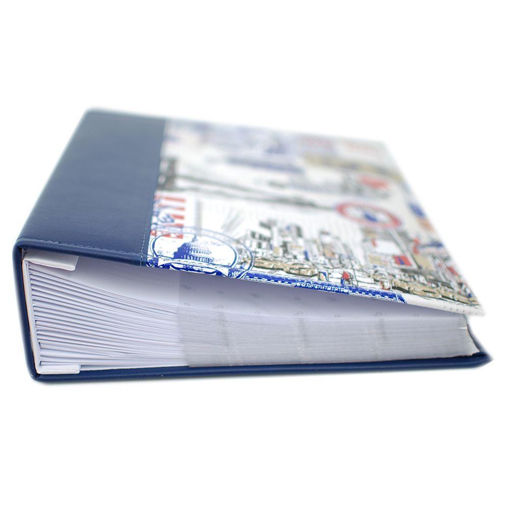 Álbum 450 fotos 10x15 Premium Azul Rec 124/11