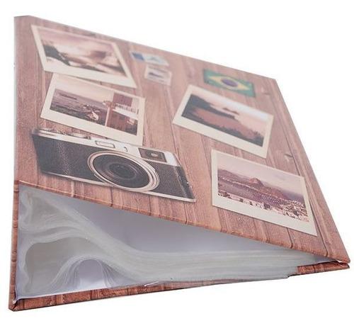 ALBUM 500F 10X15 VIAGEM REBITE - ICAL 586