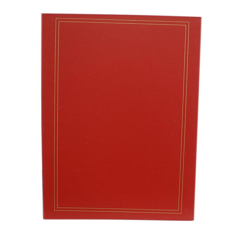 Álbum 600 Fotos 10x15 Napa Rec Vermelho 110/27