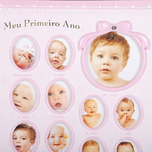 ALBUM AUTOCOLANTE MEU PRIMEIRO ANINHO 100 FOTOS 15X21 MENINA - SQUARE